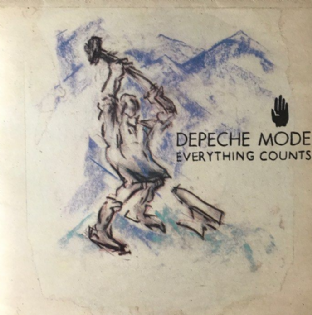 "Depeche Mode ‎– Everything Counts (7"") (VG+/EX)"
